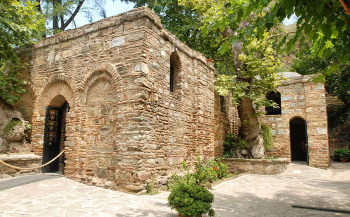 Ephesus House of Virgin Mary from Didim